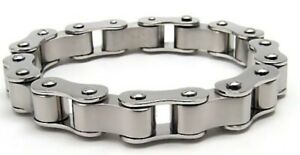 Motorcycle-Chain-Bracelet-Biker-Heavy-New-8-25-inches