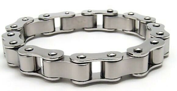 Motorcycle Chain Bracelet Biker Heavy New 8.25 inches