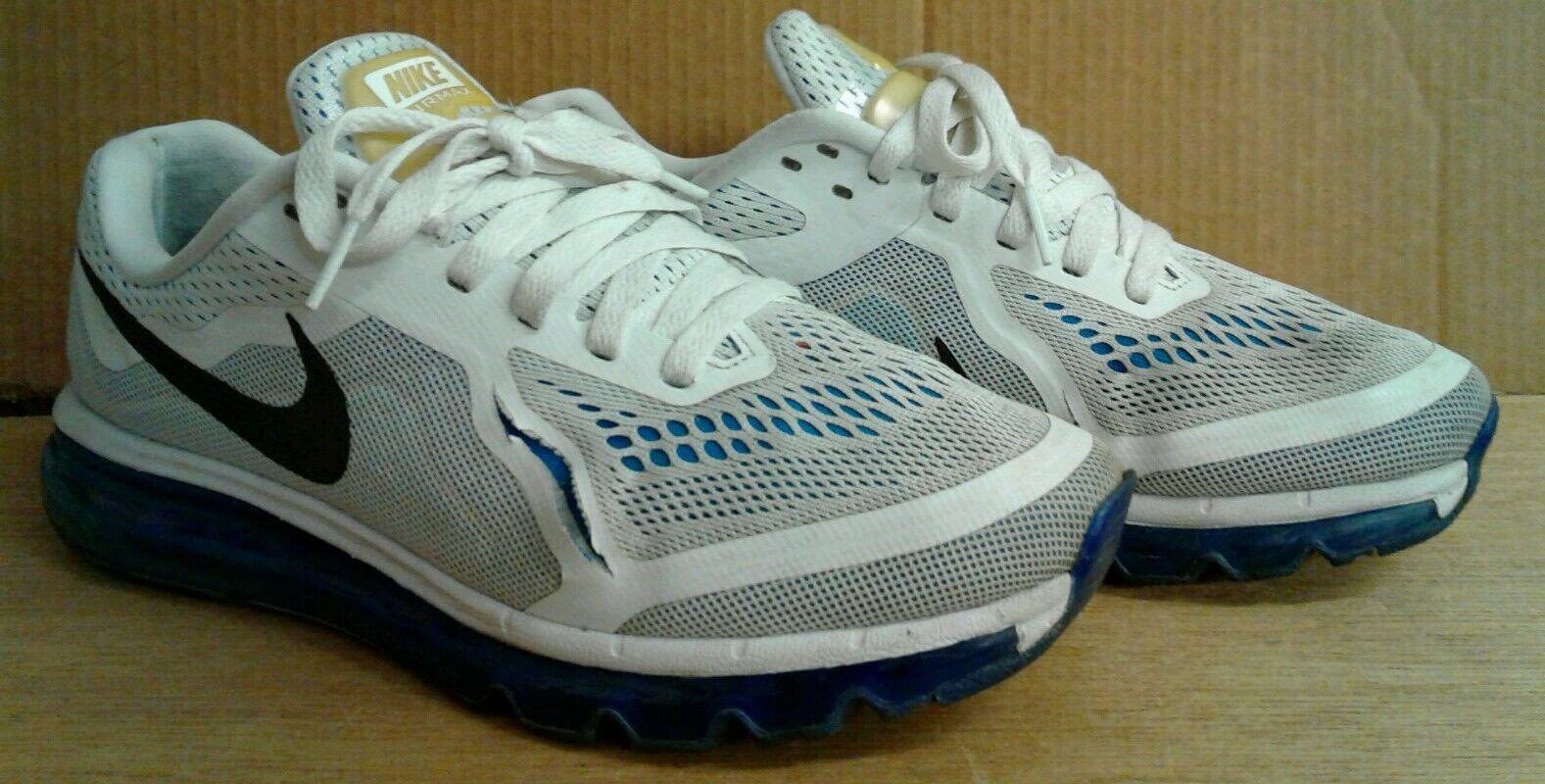 Men's Size 8.5 *Nike Air Running Max* Blue & White Running Air Shoes 955e5c