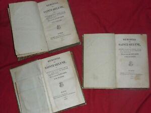 livres-MEMORIAL-DE-SAINT-HELENE-NAPOLEON-par-le-comte-de-LAS-CASES-1823-3-tomes