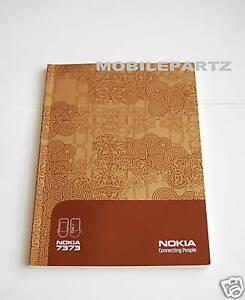 genuine nokia 7373 7370 user manual user guide english ebay rh ebay co uk Themes Nokia 7373 Mobile Phone Nokia Pink 7373