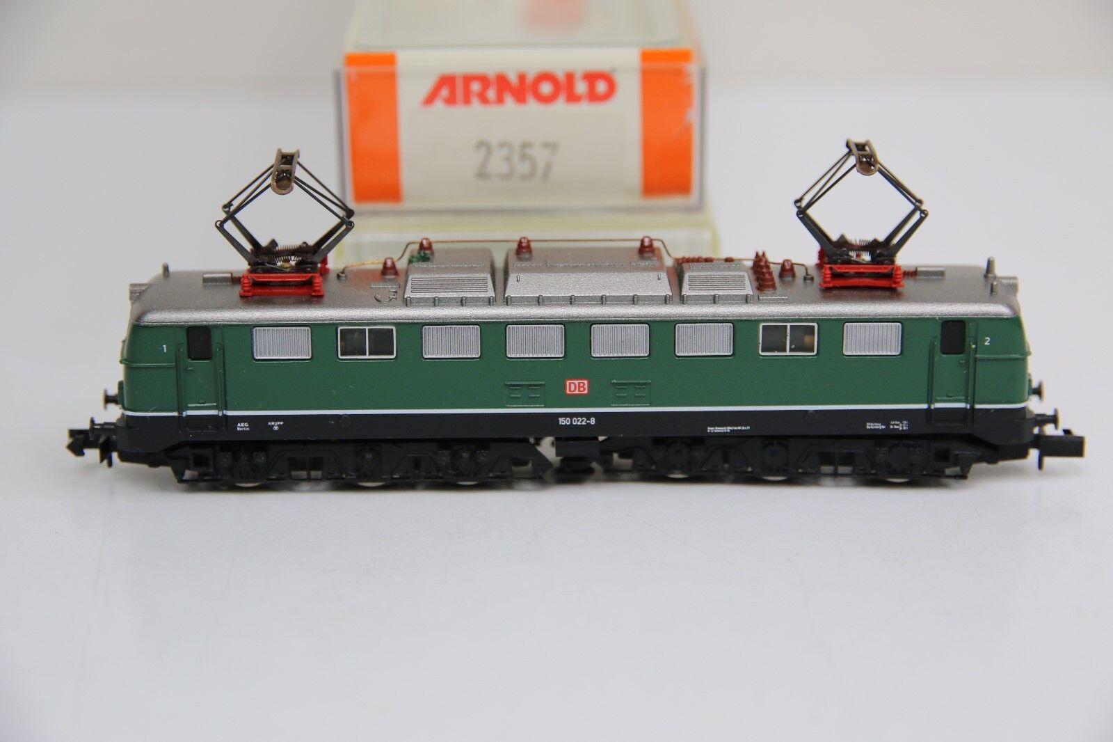 Arnold pista n 2357 e-Lok br 150 022-8 de la DB en embalaje original (rb7107)