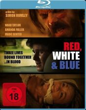 Red White & Blue ( Red, White and Blue ) Blu-Ray Noah Taylor, Amanda Fuller NEW