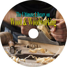 Woodwork Wood Woodworking Tools Restoration Carpentry Carving Turning Books DVD