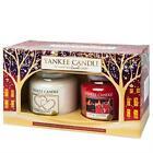 Yankee Candle 2 Medium Jar Christmas Gift Set 2015 Festive Fragrances 1351184