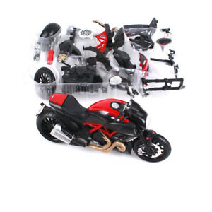 1-12-Maisto-Ducati-Diavel-Model-Year-2011-Assembly-Line-DIY-Motorcycle-Collectio