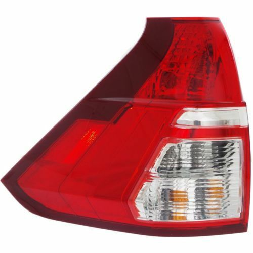 New HO2800186 Driver Side Lower Clear and Red Lens Tail Light For Honda CR-V 15