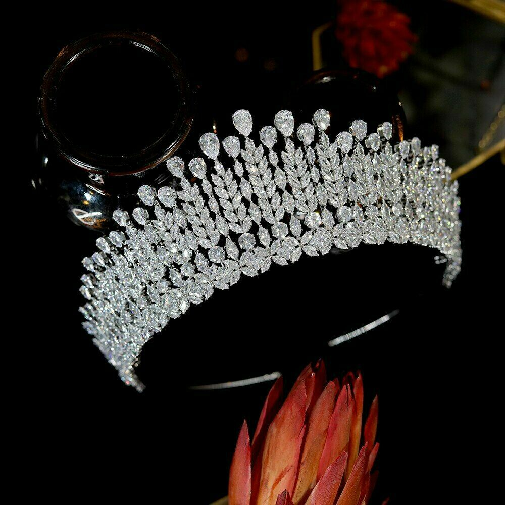 Lady Girl Headband Bride Crowns Wedding Hair Accessories Headdress Party Tiaras
