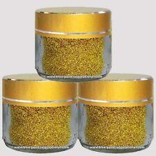 GOLD POWDER - 3 x 100mg - EDIBLE - GENUINE - 99.9% PURE - 24K - Leaf Leaves