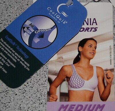 Bh Viania Sports Cool Quik 100d Weiß / 100 D ~~ Neu ~~