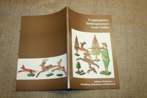 Fachbuch Reifendreher Reifentiere DDR 1987 Drechsler Spielzeug Seiffen