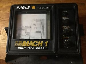 Vintage Eagle Mach 1 Computer Paper Graph Fish Finder For Repair Display Or Prop - Newport, Newport, United Kingdom - Vintage Eagle Mach 1 Computer Paper Graph Fish Finder For Repair Display Or Prop - Newport, Newport, United Kingdom