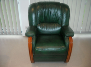 Fauteuil cuir relax occasion