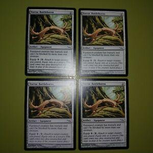 Vorrac-Battlehorns-x4-Mirrodin-4x-Playset-Magic-the-Gathering-MTG