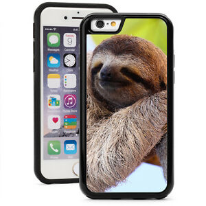 For-iPhone-X-XS-Max-XR-7-8-Plus-Shockproof-Impact-Hard-Case-1547-Happy-Sloth