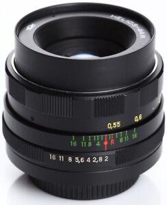 US-Seller-Helios-44m-58mm-f2-Canon-Bokeh-portrait-Lens-SLR-M42-Mount-44-2-Manual