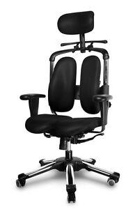 orthop dische b rost hle pc sessel ergonomischer stuhl gaming stuhl b rostuhl ebay. Black Bedroom Furniture Sets. Home Design Ideas