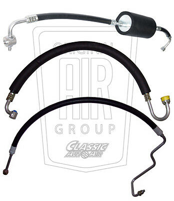 1968-mid 72 OLDS CUTLASS A/C HOSE SET (3-pieces) AC Air Conditioning F-85