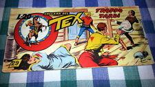 TEX STRISCIA TERZA SERIE ( 3a ) n°  29 - ORIGINALE - 4 / 12 / 1951 -  OTTIMO-FS1