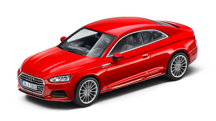 Audi A5 Coupe Model Car 1 43 Model 2016 Tango Red - 5011605432
