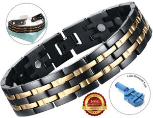 Magnetic-Bracelet-Germanium-Arthritis-Therapy-Chronic-Pain-Carpal-Tunnel-Relief