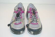 "Columbia ""Ravenous Amphibian"" Womens Size 8 M (40 Eur) Gray/Purple Trail Shoes"
