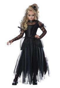 california costumes dark princess black child girls