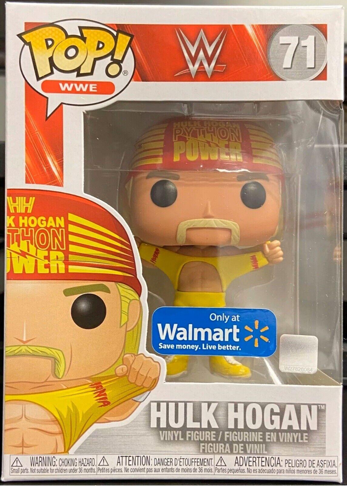 Hulk Hogan Wrestlemania 3 US Exclusive Pop WWE Vinyl