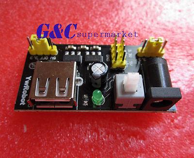 5PCS MB102 3.3V/5V Breadboard Power Supply Module For Arduino Board M18