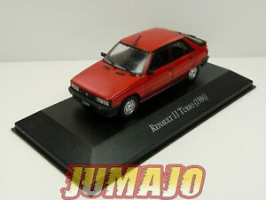 AQV11J-Voiture-1-43-SALVAT-Inolvidables-80-90-Renault-11-TURBO-rouge-1986