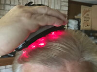 Hair Loss Laser - 9 Lasers With Vibrating Scalp Massage - Rechargeable -