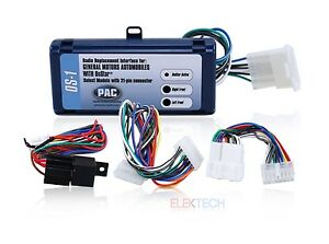 pac os radio replacement interface onstar adapter for gm non image is loading pac os 1 radio replacement interface onstar adapter