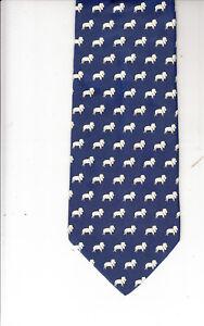 Renato-Balestra-Lion-Theme-Authentic-100-Silk-Tie-Made-In-Italy-RB70-Men-039-s-Tie