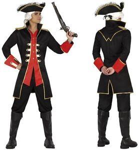 Deguisement-Homme-Capitaine-PIRATE-XL-Costume-Adulte-cinema-film-NEUF-Pas-cher