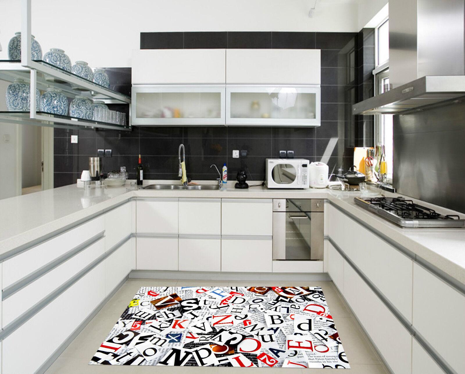 3D Alphabet Anglais 030 Décor Mural Murale Murale Murale De Mur De Cuisine AJ WALLPAPER FR | à L'aise  57805d