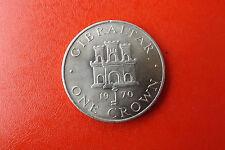 *Gibraltar 1 Crown 1970 K-n * Castle Key (Schub 7)