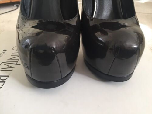 taille 38 Tribute Ysl Designer 5 5 Charcoal Shoes Authentic 5 w8gTPxE