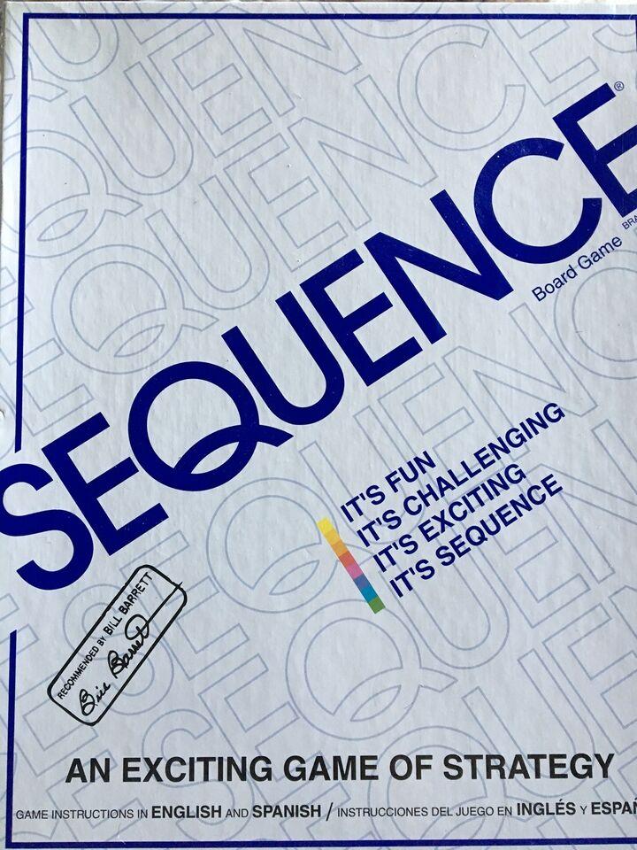 Sequence, Familie spil, brætspil