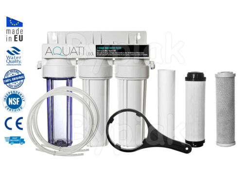 3 Stage HMA Heavy Metal Reduction Water Filter System for discus pleco breeding