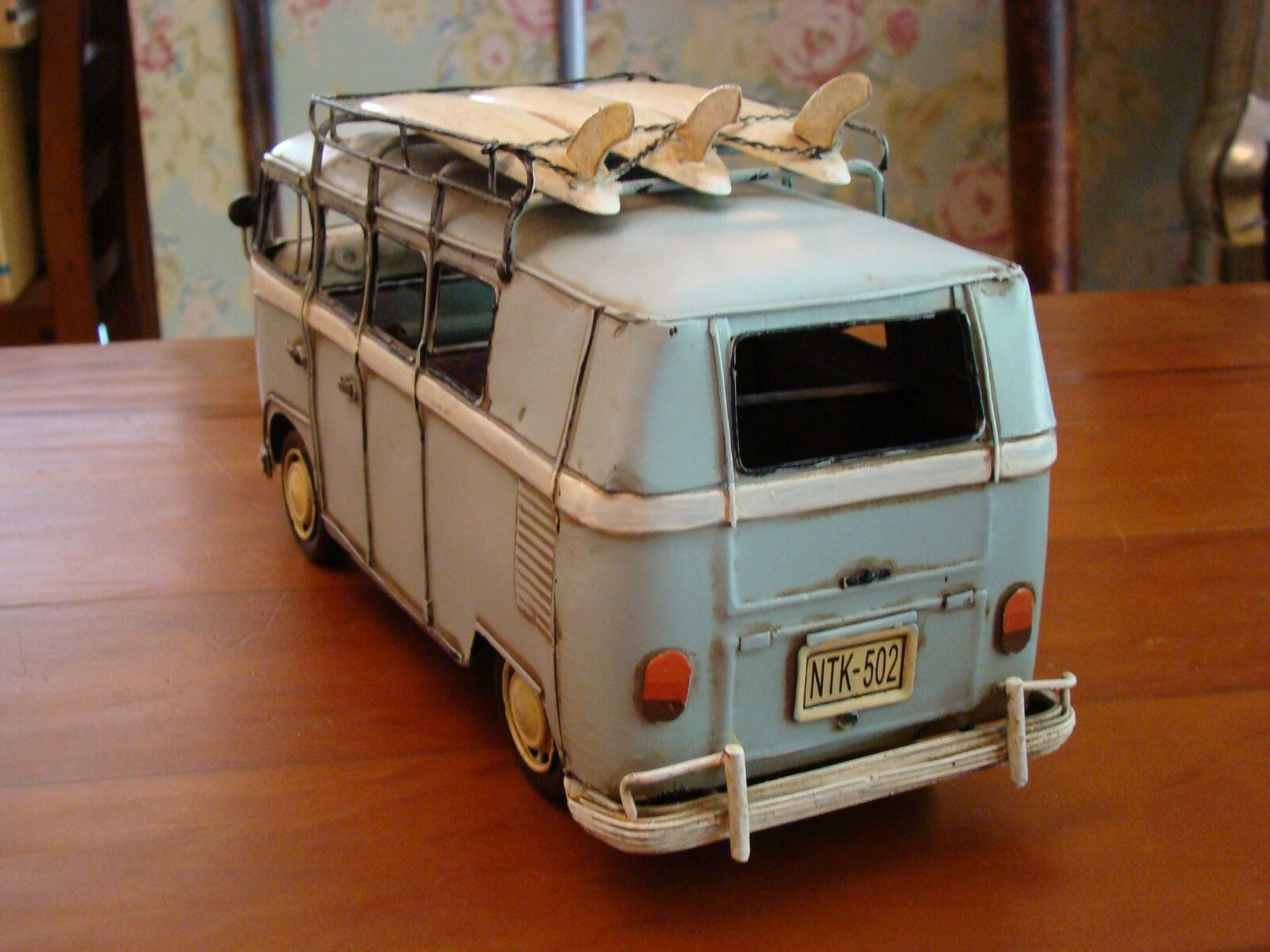 1 16 Volkswagen Camper Surf Holiday B Model Metal Cornwall Rare Large