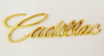 NEW CADILLAC GOLD EMBLEM BADGE CTS CATERA ESCALADE ATS ELDORADO DEVILLE SEVILLE