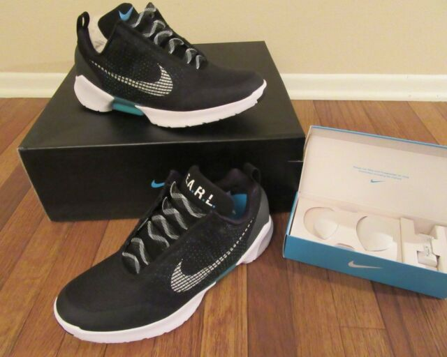 Nike Hyper Adapt 1.0 Size 11.5 Black White Blue Lagoon 843871 001 New NIB  2017 8a5406ce9