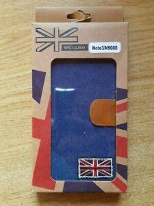Book-wallet-style-British-design-denim-flip-case-for-Samsung-Galaxy-Note-3-N9000