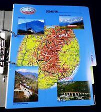 Sammelordner: Die schönsten Alpenbahnen Südalpen, Westalpen,  Fahrzeuge & Archiv