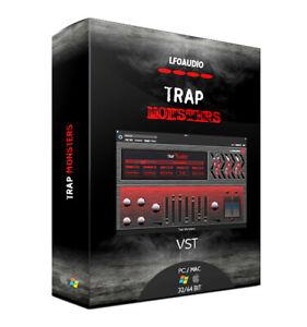 trap monsters vst plug in vst3 au logic fl studio ableton sony samples sounds ebay. Black Bedroom Furniture Sets. Home Design Ideas