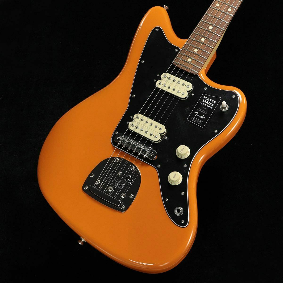 Fender Player Series Jazzmaster Capri Orange Pau Ferro Fingerborad rare EMS F S