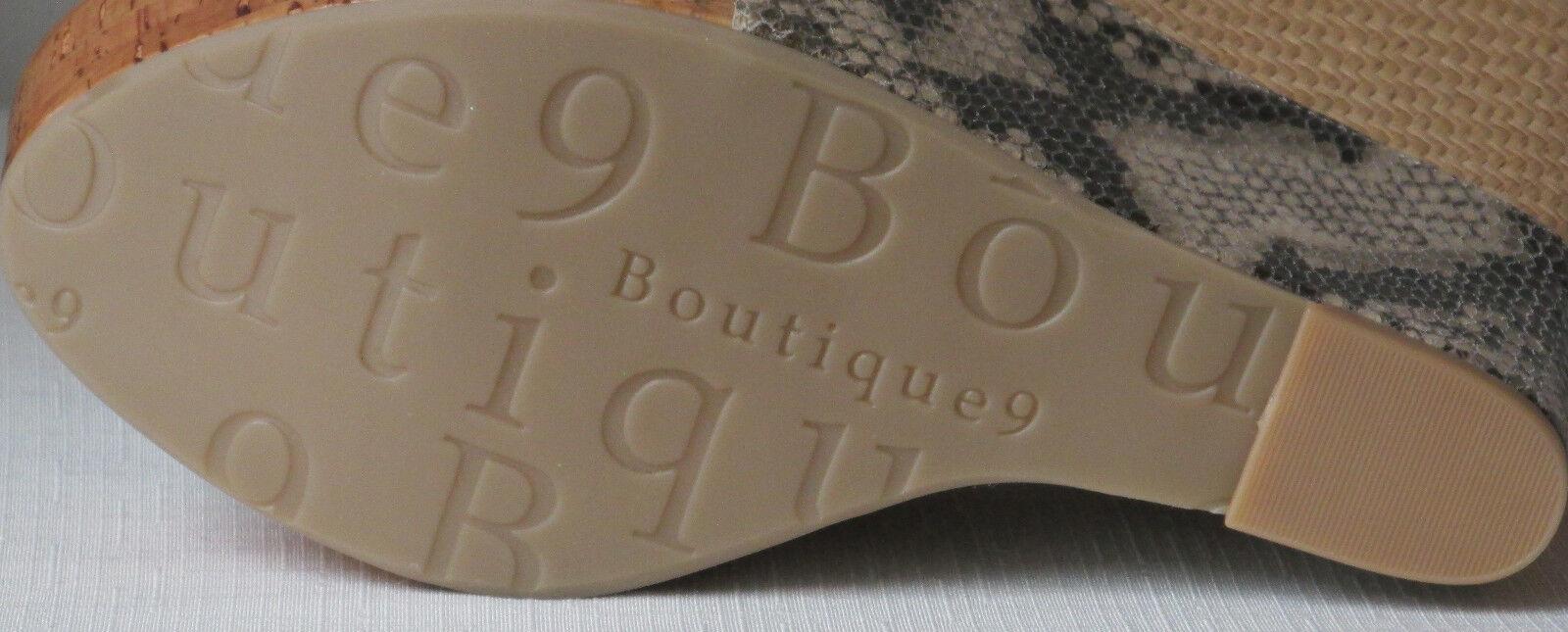 Boutique 9 Faleen Platform Sandal    Snake-Multi-color  Size  10 1634d5