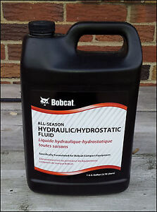 Details about Bobcat Hydraulic Hydrostatic Fluid Oil 1 Gallon - 6904026 All  Season Skid Steer