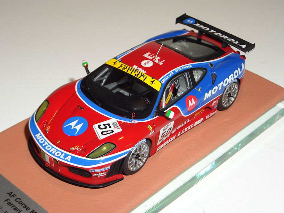 1 43 ab Modelos Ferrari F430 Figura de Acción Corse Motorola FIA GT limitada 50 ABB103