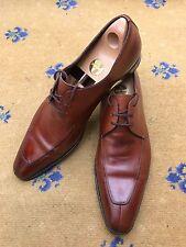 Miu Miu by Prada Men's Shoes Brown Leather Lace Up UK 10.5 US 11.5 EU 44.5